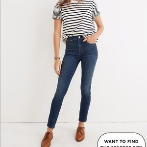 Madewell High Rise Skinny Jeans Sz 24-25